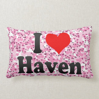 I love Haven Throw Pillow