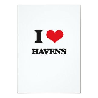 I love Havens 5x7 Paper Invitation Card