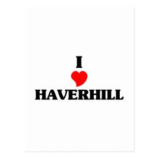 I love Haverhill Postcard