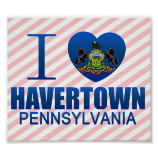 I Love Havertown, PA Poster