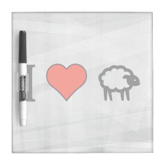I Love Having A Sheep Dry-Erase Boards