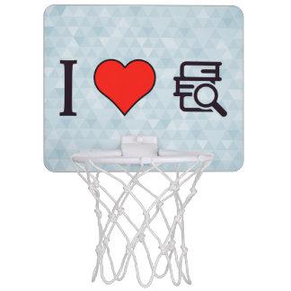 I Love Having Stack Of Books Mini Basketball Backboards