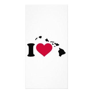 I love Hawaii Card
