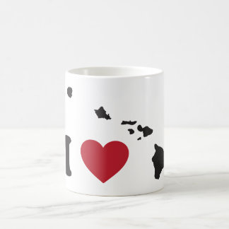 I Love Hawaii Coffee Mug