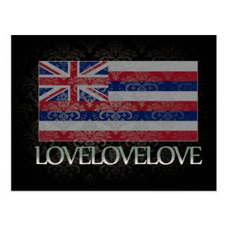 I love Hawaii Cool Postcard