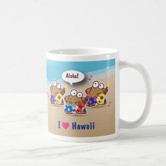 I Love Hawaii eyesore monsters Aloha Mug
