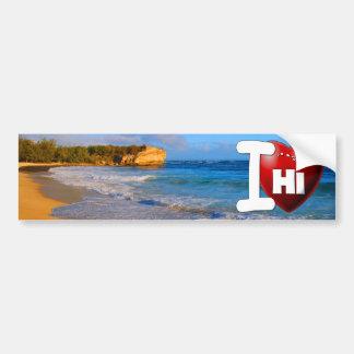 I Love Hawaii - I Heart Hawaii Bumper Sticker