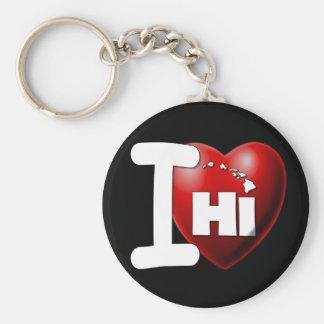 I Love Hawaii - I Heart Hawaii Keychain