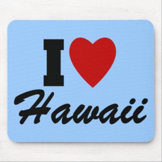 I Love Hawaii Mouse Pad