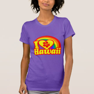 I Love Hawaii (red version) T-shirt