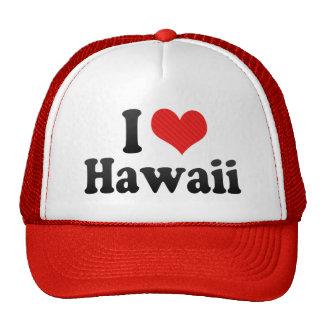 I Love  Hawaii Trucker Hat