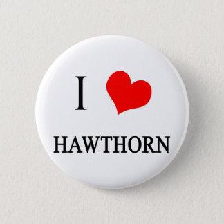 I Love Hawthorn Pinback Button