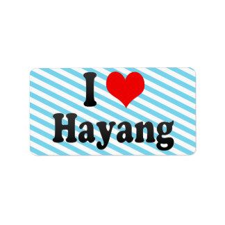 I Love Hayang, Korea Label