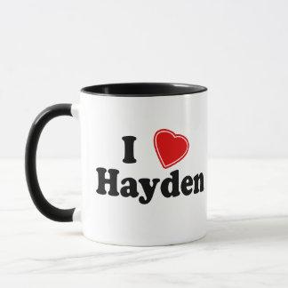 I Love Hayden Mug
