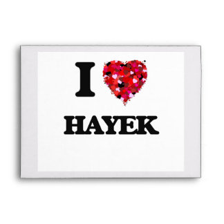 I Love Hayek Envelope