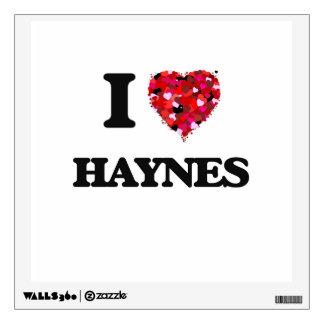 I Love Haynes Wall Decor