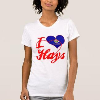 I Love Hays, Kansas T Shirts