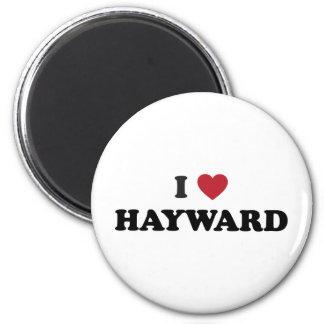 I Love Hayward California Fridge Magnets