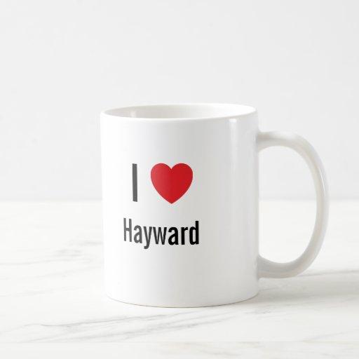 I love Hayward Classic White Coffee Mug