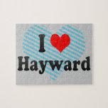 I Love Hayward, United States Puzzles