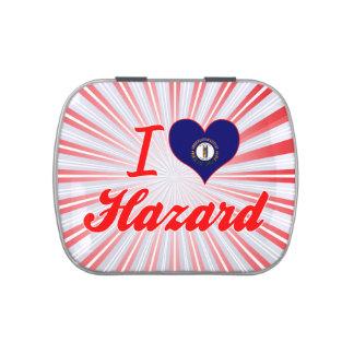 I Love Hazard, Kentucky Jelly Belly Candy Tins
