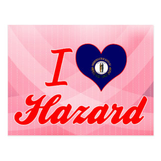 I Love Hazard, Kentucky Postcard