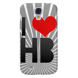 I Love HB Samsung Galaxy S4 Case