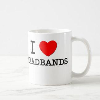 I Love Headbands Classic White Coffee Mug