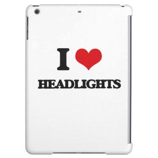 I love Headlights Case For iPad Air