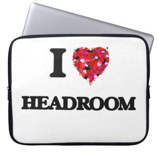 I Love Headroom Laptop Computer Sleeve