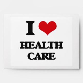 I love Health Care Envelope