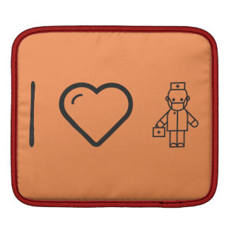 I Love Health Cares iPad Sleeves