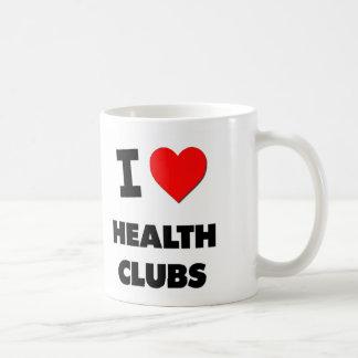 I Love Health Clubs Coffee Mugs