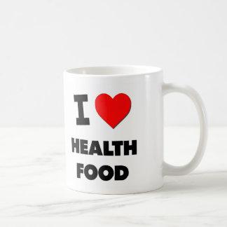 I Love Health Food Coffee Mugs