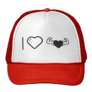 I Love Healthy Hearts Trucker Hat