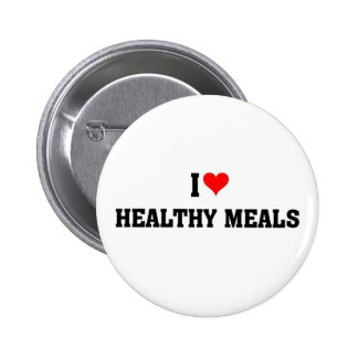 I love healthy meals button