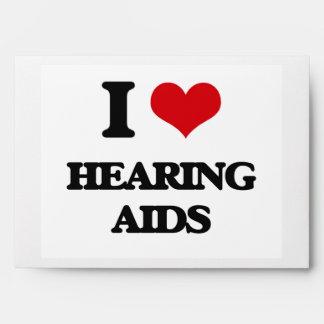 I love Hearing Aids Envelope