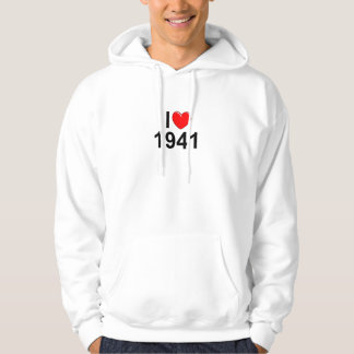 I Love (Heart) 1941 Pullover
