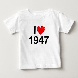 I Love (Heart) 1947 Baby T-Shirt