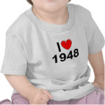 I Love (Heart) 1948 T-shirt
