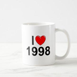 I Love (Heart) 1998 Coffee Mug