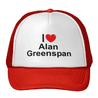 I Love (Heart) Alan Greenspan Mesh Hat
