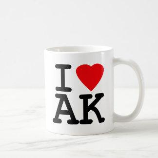 I Love Heart Alaska Coffee Mug