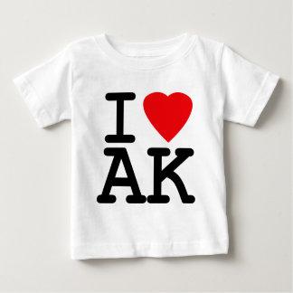 I Love Heart Alaska Shirt