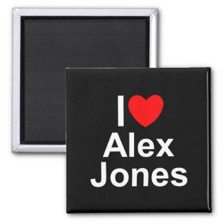 I Love (Heart) Alex Jones Fridge Magnet