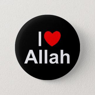 I Love (Heart) Allah Pinback Button