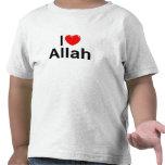 I Love (Heart) Allah Shirt