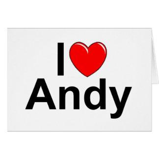 I Love (Heart) Andy Card
