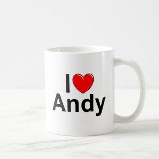 I Love (Heart) Andy Coffee Mug