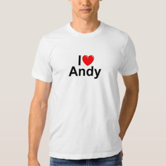 I Love (Heart) Andy T-shirt